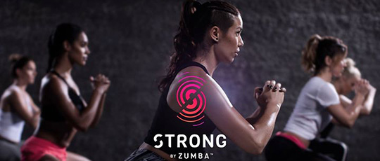 Tr�na STRONG<sup>�</sup> by Zumba hos Videdals GIF
